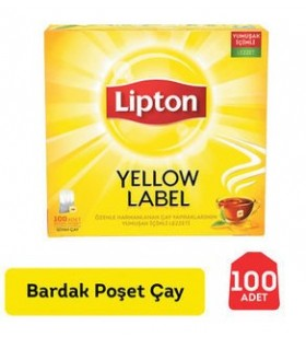 LIPTON YELLOW LABEL 100'LU POSET 200 GR