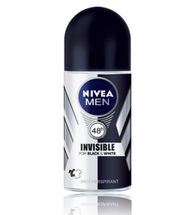 NIVEA DEO ROLL-ON INV B&W POWER 50ML ERK