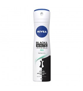 NIVEA DEODORANT SPREY INVISIBLE BLACK & WHITE FRESH KADIN 150 ML