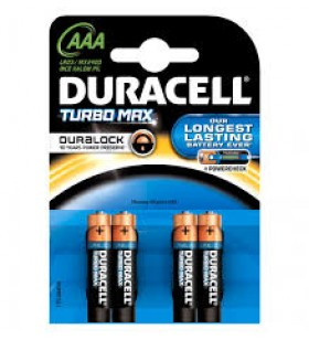 DURACELL DURELOCK AAA INCE PIL 4 LU